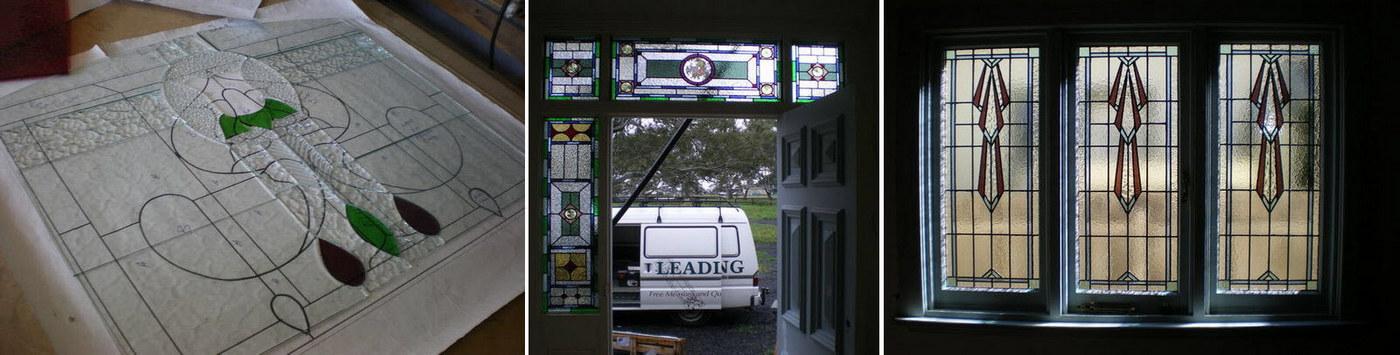 Leadlight Glass Panelling in Heritage Doors & Leadlight Glass Panelling in Heritage Doors | Statesman Doors